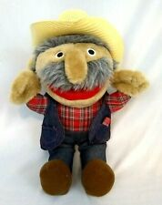 "Shotgun Red Plush Doll Nashville Now Hee Haw TV Stuffed Animal 16"" Autographed"