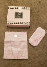 LIMITED EDITION GHD Pink Professional Box Set Styler Pouch & Bag, No Iron