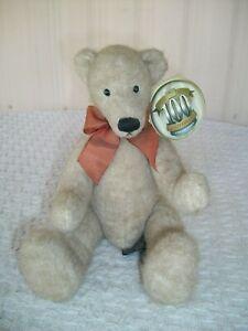 Russ Berrie ~ 100th Anniversary Teddy Bear ~ Coleridge ~ with Tag ~ VHTF