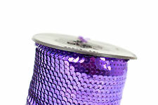 Clearance! 6mm Paillettes Sequin Trim/ Ribbon - 100 Metre Roll