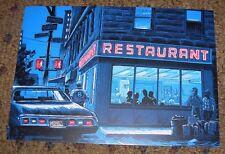 TIM DOYLE Art 5X7 Postcard SEINFELD The Big Salad Diner like poster print