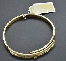 #JH97 Michael Kors Crystal Pavé Turnlock Hinge Bangle Bracelet $125