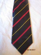 Lands End Blue Striped Silk Neck Tie