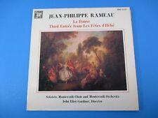 La Danse 3rd Entree Les Fetes d'Hebe Album LP Vinyl Jean-Philippe Rameau MHS4247