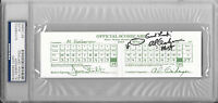 AL GEIBERGER Mr. 59 Signed PGA Tour BUSINESS CARD Golf Scorecard Memphis PSA/DNA