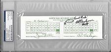 AL GEIBERGER Mr. 59 Signed PGA Tour BUSINESS CARD Golf Scorecard Memphis PSA/DNA