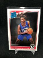 SHAI GILGEOUS-ALEXANDER 2018-19 OPTIC RATED ROOKIE  #162 CLIPPERS RC J50