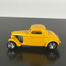 1933 FORD COUPE 3 WINDOW CUSTOM 1:64 SCALE LIMITED COLLECTIBLE DIECAST MODEL CAR