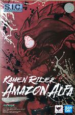 Bandai SIC Chogokin Masked Kamen Rider Amazon Alpha Alfa Amazon.co.jp Exclusive