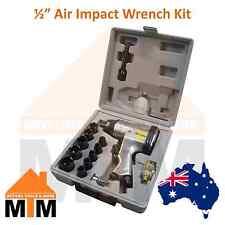 """17PC 1/2"""" Air Impact Wrench Kit Rattle Gun Tool Set Socket Pneumatic Metric Inch"""