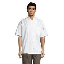 Aruba Chef Coat, Black or White sizes Xs - 3Xl Style 0480