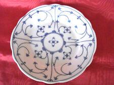 PM Moschendorf Bavaria - Kuchenteller / Dessertteller  Indisch Blau  um1900