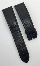 Authentic Zenith Dark Brown Alligator Rubber 21mm x 18mm Strap Band OEM 2118-494