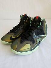 Nike Zoom Lebron Size 5.5Y Kings Pride Gradeschool Big Kids 621712-700