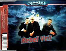 """SCOOTER - 5"""" CD - Rebel Yell (Radio edit, Extended mix) + Euphoria. Billy Idol"""