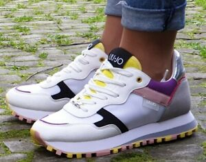 LIU JO Schuhe Wonder 2.0  BXX063 TX095 Weiß White Damen Sneaker Neu