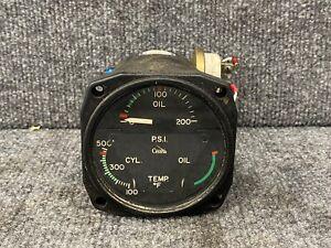 Cessna 310 / Garwin Engine Gauge Oil Pressure / CHT / Oil Temp CM2634-L1