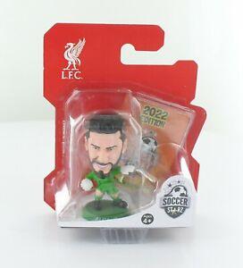 Alisson Liverpool SoccerStarZ 2022 MicroStars Green Base Blister