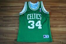 VINTAGE JERSEY BOSTON CELTICS #34 PAUL PIERCE CHAMPION SHIRT NBA BASKETBALL SZ M