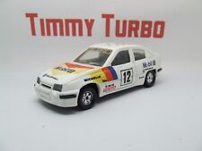 D CORGI VAUXHALL ASTRA RALLY CAR MOBIL 1 GTE 16 V 115 MM LONG DIECAST