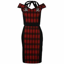 Patternless Halterneck Wiggle, Pencil Dresses for Women