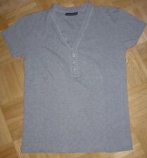 Herren Shirt T-Shirt kurzarm Gr. 48 grau von John Devin