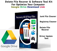 Data Recovery Software With REGISTRY CLEANER FIX SLOW PC REPAIR ERROR WINDOWS PC