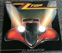 ZZ Top Eliminator 1983 Original Vinyl LP Warner Bros. 92 3774-1 Legs NM/NM