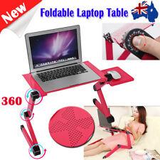 360 Adjustable Folding Laptop Notebook Computer Table Desk Mouse Holder Stand