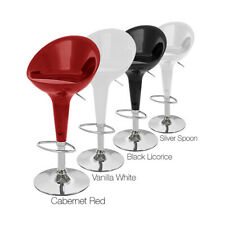 MODERN HIGH-BACK BOMBO STYLE BARSTOOL-ADJUSTING BAR STOOL - CONTEMPORARY - BETA