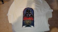 """STAR WARS """"THE EMPIRE STRIKES BACK"""" CREW T-SHIRT 1979 """"VADER IN FLAMES"""" ORIGINAL"""
