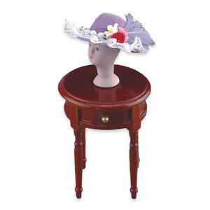 Hat Stand on Table Set Reutter Porcelain 1:12 Scale US SHIPPER