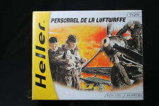 YP047 HELLER 1/72 maquette figurine 71211 Personnel de la Luftwaffe