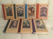 A Series of Unfortunate Events Books 1, 2, 4, 6, 7, 9, 12 Lemony Snickett