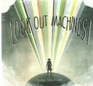 Duke Special, Look Out Machines!, 2015 Stranger Records 11 tracks New/Sealed