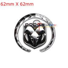 (1) 3D Metal Car Auto Body Rear Boot Truck Lid Emblem Badge Sticker for Dodge