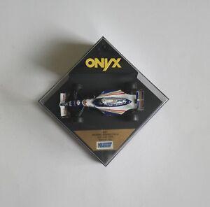 1995 DAMON HILL WILLIAMS RENAULT FW 16 TEST CAR DIE CAST MODEL ONYX 231 VGC DH