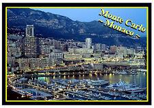 MONTE CARLO, MONACO, SOUVENIR NOVELTY FRIDGE MAGNET (SIGHTS) - NEW / GIFTS