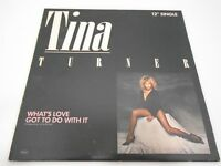 VINTAGE VINYL RECORD TINA TURNER WHAT'S LOVE GOT TO DO WITH IT 12'' SINGLE