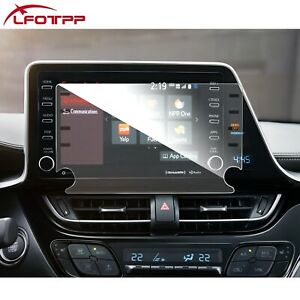 """LFOTPP Car Touchscreen Protector Tempered Glass 8"""" For 2020-2021 Toyota C-HR"""