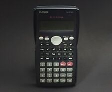 Used Casio Fx-82ms Scientific Calculator 2-line Display W/cover - 100% Working