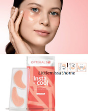 ORIFLAME OPTIMALS INSTA-COOL ANTI-FATIGUE HYDRO GEL COOLING FACE PATCHES 1 use