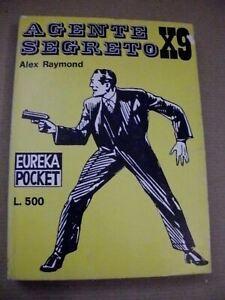 Alex Raymond AGENTE SEGRETO X9 / Eureka Pocket Editoriale Corno 1969