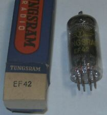 EF42 electronic tube (équivalent HF62 = Z150) Tungsram