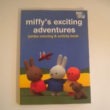 New MIFFY'S EXCITING ADVENTURES JUMBO COLORING & ACTIVITY BOOK