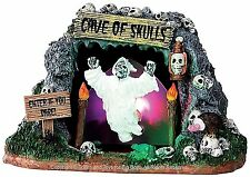 Lemax 34602 CAVE OF SKULLS Spooky Town Table Accent Animated Halloween Decor I