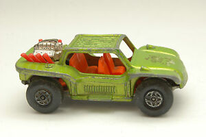 Matchbox Lesney 1971 Baja Buggy Serie Número 13 Verde Metálico