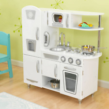 NEW KidKraft White Vintage Kitchen Kids Cooking Pretend Play Children Fun 53208