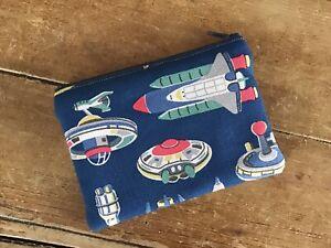 Handmade Coin Purse Cath Kidston Space Print Fabric