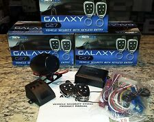 NEW  galaxy ScyTek G27 Car Alarm Security System 2 Chrome Remotes Key less A27